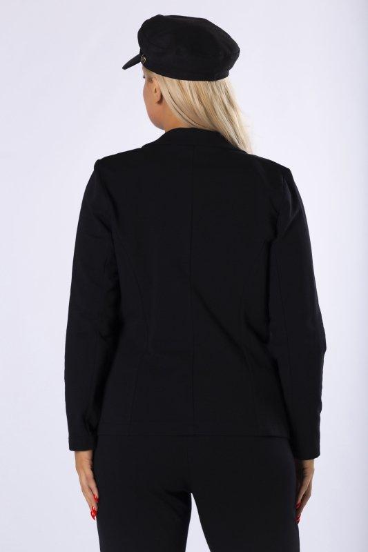 dresowy żakiet o taliowanym kroju
