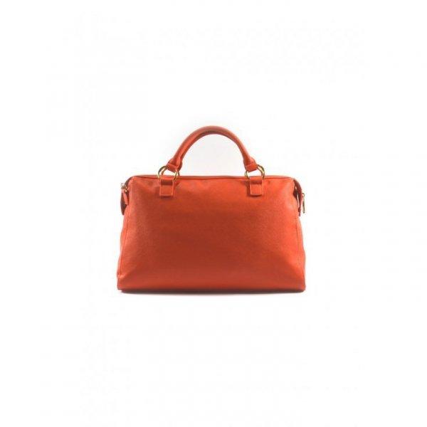 Pomarańczowy kuferek Armani Jeans
