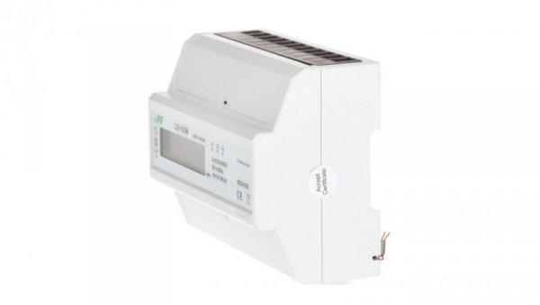 Licznik energii elektrycznej 3-fazowy 100A jednotaryfowy 230/400V z wyświetlaczem LCD LE-03M