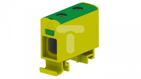 Złączka sz. gwint. AL/CU/ 1,5-50 mm2 TS35 1-tor 2-otw zaciskowe OTL50 żółto- ziel MAA1050Y10 89706009