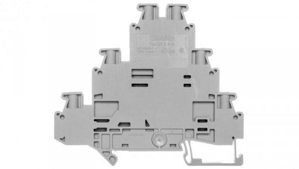 Złączka szynowa 3-piętrowa 0,14-4mm2 szara UT 2,5-3L 3214259
