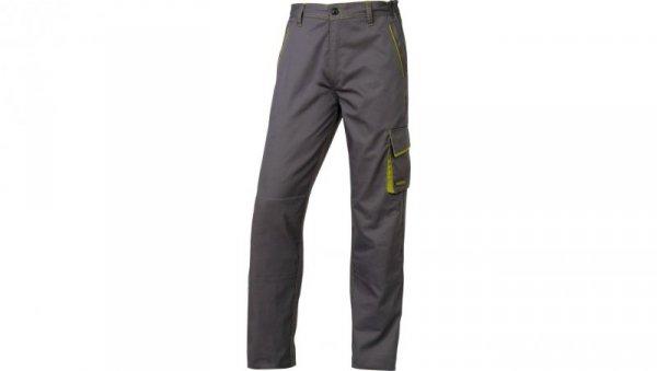 Spodnie Panostyle z poliestru i bawełny szaro-zielone rozmiar L M6PANGRGT