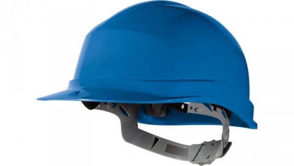 Hełm budowlany z polietylenu niebieski regulowany 440 VAC ZIRC1BL