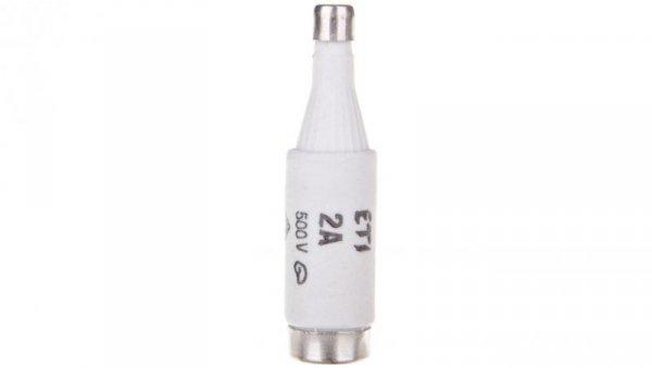 Wkładka bezpiecznikowa 2A DI gG 500V E16 002311401