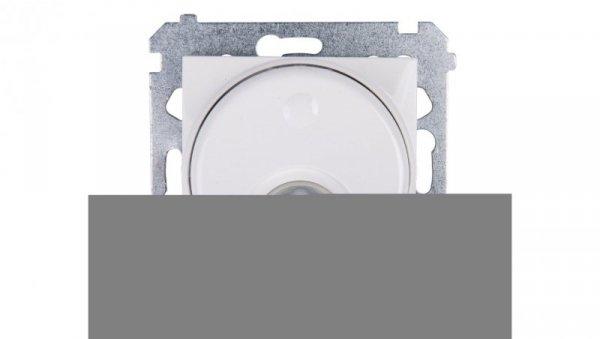Simon 54 Czujnik ruchu z przekaźnikiem i zabezpieczeniem biały DCR11P.01/11