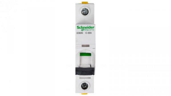 Wyłącznik nadprądowy 1P C 25A 6kA AC iC60N-C25 A9F04125