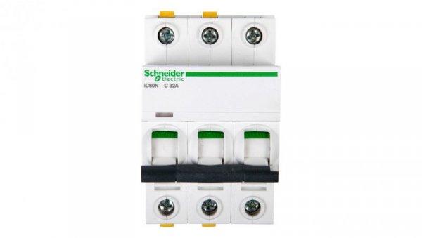 Wyłącznik nadprądowy 3P C 32A 6kA AC iC60N-C32-3 A9F04332