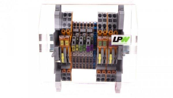 Listwa pomiarowa LPW 13-torowa 60V AC równoległa 847-105/060-1000