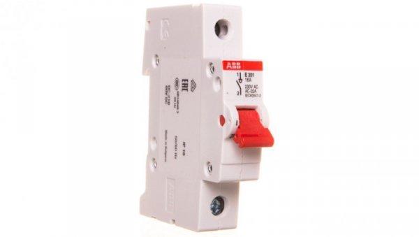 Rozłącznik modułowy 16A 1P E201/16A 2CDE281001R0016