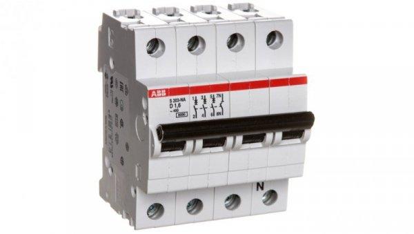 Wyłącznik nadprądowy 3P D 1,6A 6kA AC S203-D1,6 NA 2CDS253103R0971