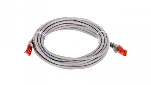 Kabel krosowy (Patch Cord) U/UTP kat.6 szary 5m DK-1612-050