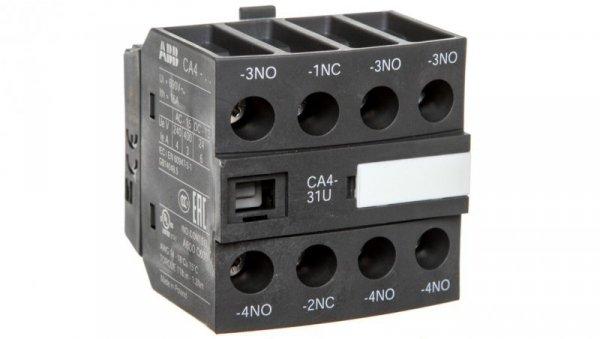 Styk pomocniczy 3Z 1R montaż czołowy CA4-31U 1SBN010140R1331