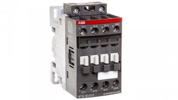 Stycznik mocy 18A 3P 7,5kW 24-60V AC 20-60V DC 0Z 1R AF16-30-01-11 1SBL177001R1101