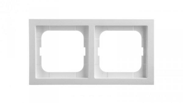 Ramka 2-krotna biała 1722-184K-500