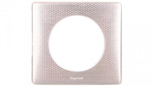 CELIANE Ramka ANODISED Tekstura aluminium - pojedyncza 068721
