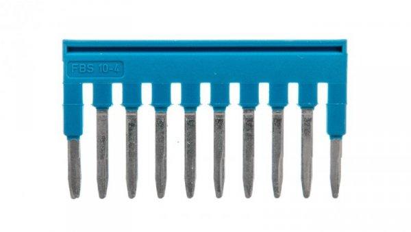 Mostek wtykany 10-biegunowy 4,2mm niebieski FBS 10-4 BU 3036851 /10szt./