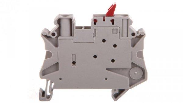 Złączka przelotowa 2-przewodowa z odłącznikiem nożowym 4mm2 szara UT 4-MTL KNIFE-RD 3046152 /50szt./