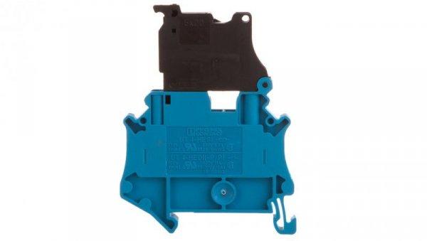 Złączka szynowa z bezpiecznikiem 5x20 6,3A 2-przewodowa 4mm2 niebieska UT 4-HESI (5X20) BU 3060527 /50szt./