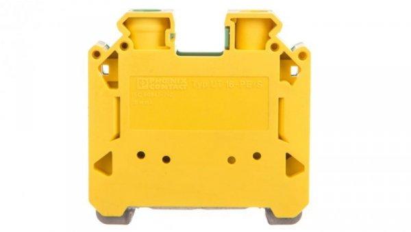 Złączka szynowa ochronna 16mm2 zielono-żółta UT 16-PE/S 3215915
