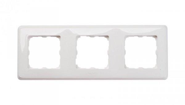 CARIVA Ramka potrójna uniwersalna biała 773653