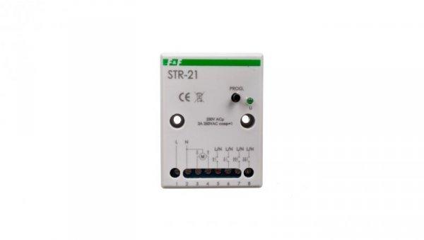 STR Sterownik rolet 230V biały 50-60Hz śruba STR-21