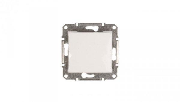Sedna Przycisk jednobiegunowy 1Z biały SDN0700121