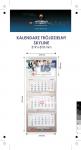 Kalendarz trójdzielny SKYLINE, z wypukłą główką, główka kaszerowana + folia błysk, główka - kreda mat 300 g, podkład - karton 300 g, 3 bloki kalendarium - 100 szt. ! Cena promocyjna