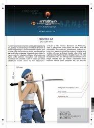 Dyplomy / licencje - 297 x 210 mm, druk jednostronny pełnokolorowy 4+0, kreda mat 350g - 350 sztuk