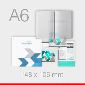 A6 - 105 x 148 mm