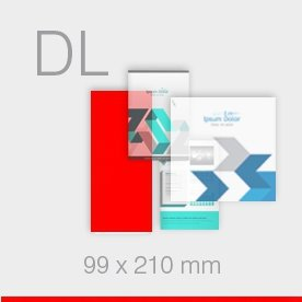 ulotki DL Ekspres - 99 x 210 mm
