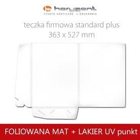 Standard plus - foliowane mat + lakier UV wybiórcz