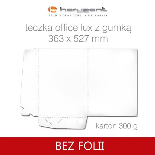 Office lux z gumką bez folii