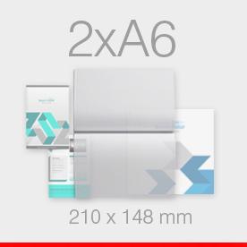 karty, zaproszenia składane format 2xA6 do A6