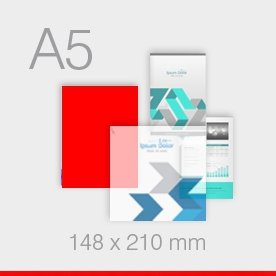 naklejki A5 - 148 x 210 mm