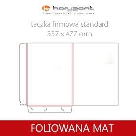 Standard - foliowane mat