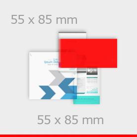 naklejki 85 x 55 mm