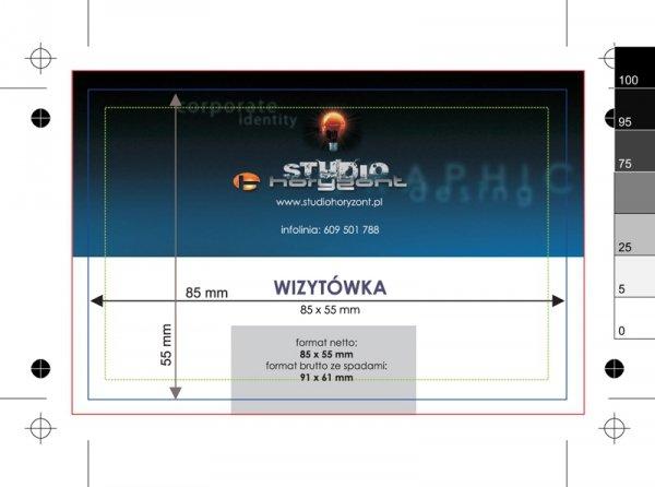 wizytówki multiloft, druk dwustronny pełnokolorowy 4+4, wypełnienie kolor pantone - 100 sztuk