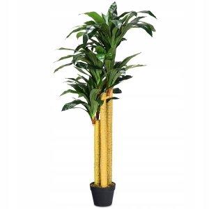 Sztuczna roślina ozdobna palma w donicy 140cm