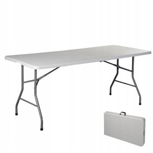 Składany stół cateringowy turystyczny kempingowy