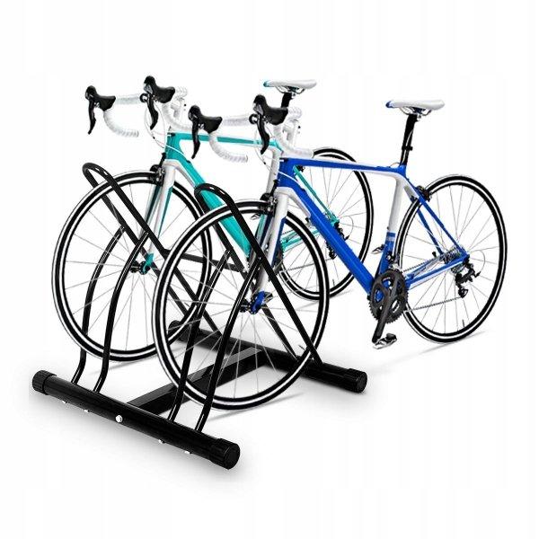 Dwustronny stojak rowerowy na 2 rowery
