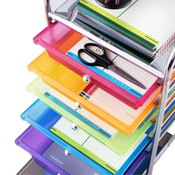 Organizer szafka na kółkach z szufladami