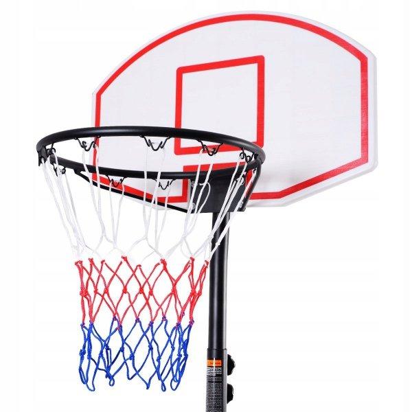 Kosz do koszykówki regulowany przenośny