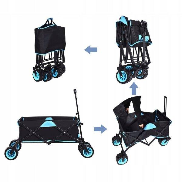 Wózek transportowy na zakupy