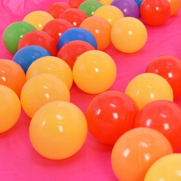 Namiot suchy basen z kulkami piłkami 100 szt.