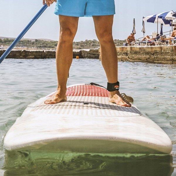 Smycz zabezpieczająca do deski sup surfingowej