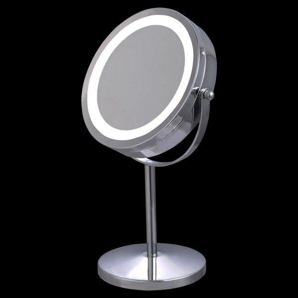 Lusterko kosmetyczne podświetlane powiększające x5