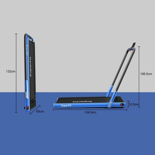 Bieżnia elektryczna składana 12km/h bluetooth wyświetlacz Led