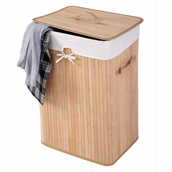 Kosz bambusowy na pranie