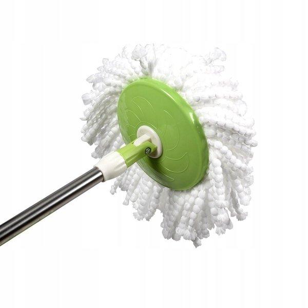 Mop obrotowy rotacyjny wiadro wkłady kij