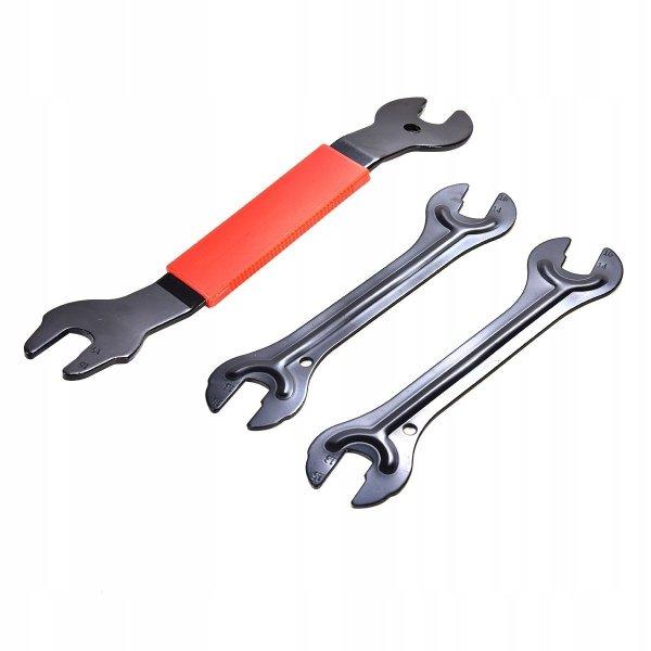 Wielofunkcyjny zestaw narzędzi do naprawy rowerów
